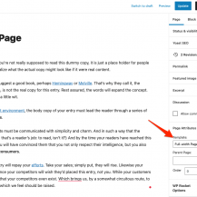 Understanding pages & page templates