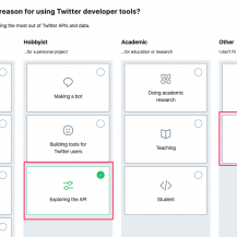 How to Create a Twitter App and connect the Twitter Widget