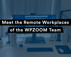 Meet the Remote Workplaces of the WPZOOM Team