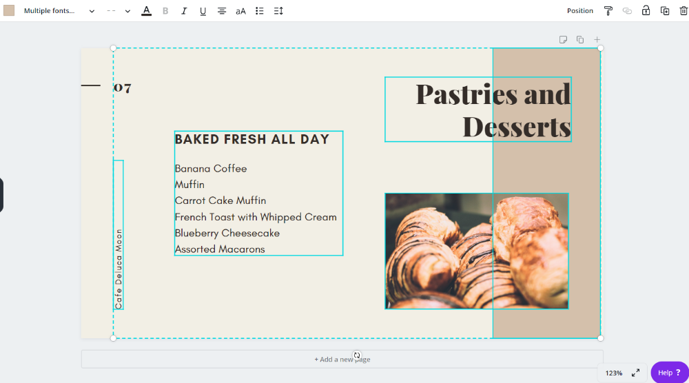 Easily created featured images and blog images with Canva