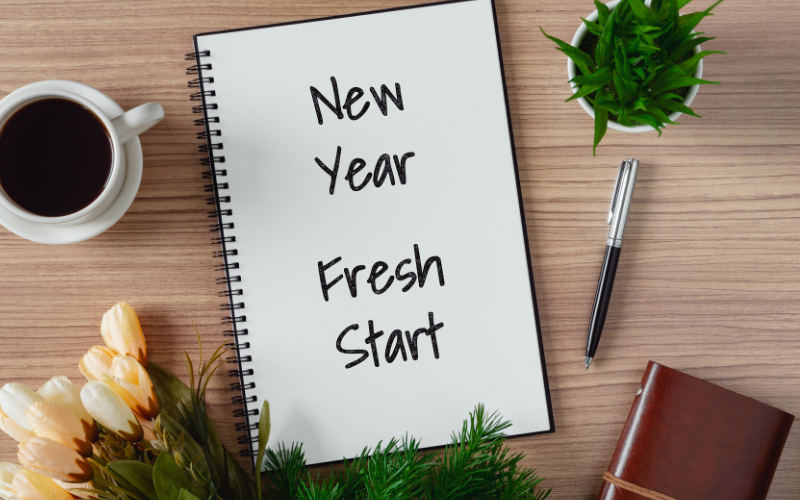 New year new start for your blog